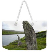 Waters Edge Stones At Bernera Weekender Tote Bag