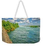 Waters Feeding Niagara Falls Weekender Tote Bag