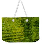 Water's Green Weekender Tote Bag by Roxy Hurtubise