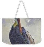 Waterway Pelican Weekender Tote Bag by Deborah Benoit