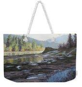 Waterways Weekender Tote Bag