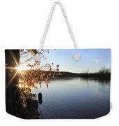 Waterways River View Weekender Tote Bag