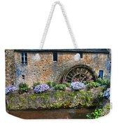 Waterwheel In Brittany Weekender Tote Bag