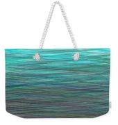 Watery Deep Weekender Tote Bag
