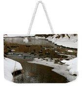 Watery Trail Weekender Tote Bag