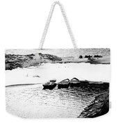 Wating For The Thaw Weekender Tote Bag
