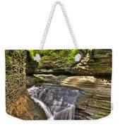 Watkins Glen Waterfalls Weekender Tote Bag