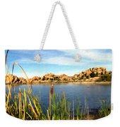 Watson Lake Arizona Weekender Tote Bag