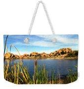 Watson Lake Weekender Tote Bag by Kurt Van Wagner