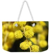 Wattle Flowers Australian Native Weekender Tote Bag