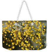 Wattle Flowers Weekender Tote Bag