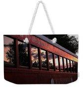 Waukewan Train Weekender Tote Bag