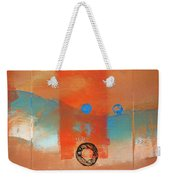 Wave Abstract Weekender Tote Bag