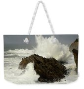 Wave At Shore Acres Weekender Tote Bag