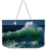 Wave Crashing On Pacific Coast, Oregon Weekender Tote Bag