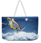Wave Jumpimg Weekender Tote Bag