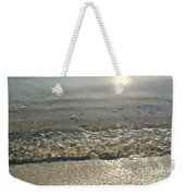 Wave On The Beach Weekender Tote Bag