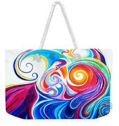 Wave Set Weekender Tote Bag