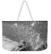 Wave Spray Weekender Tote Bag