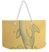 Wave The Suzuki Dolphin Weekender Tote Bag by Sheri Lauren Schmidt