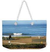 Wave Upon San Simeon Shore Weekender Tote Bag