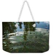 Wavering Reflections Weekender Tote Bag