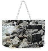 Waves And Rocks 4 Weekender Tote Bag