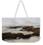 Waves And Rocks Weekender Tote Bag