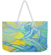Waves And The Wind Weekender Tote Bag