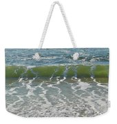 Waves At 7 Am Weekender Tote Bag