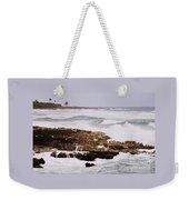 Waves Pounding Costa Maya, Mexico Weekender Tote Bag