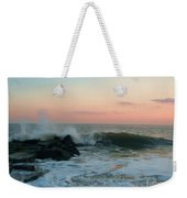 Waves At The Point West Cape May Nj Weekender Tote Bag