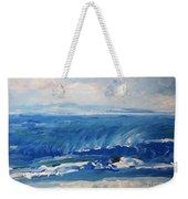 Waves At West Cape May Nj Weekender Tote Bag