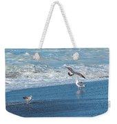 Waves In The Pacific Ocean, Point Reyes Weekender Tote Bag
