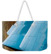 Waves Of  Blue Weekender Tote Bag
