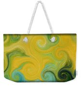 Waves Of Gold Weekender Tote Bag