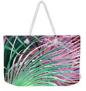 Waves Of Palm Weekender Tote Bag
