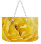 Waves Of Yellow Weekender Tote Bag by Sabrina L Ryan