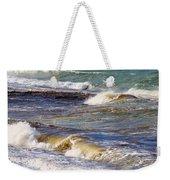 Waves - Wind - Fury Of The Sea Weekender Tote Bag