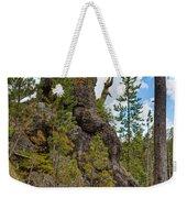 Waving Rock At Yellowstone Weekender Tote Bag