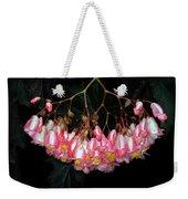 Wax Begonia Weekender Tote Bag