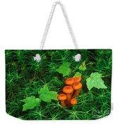 Wax Cap Fungi Weekender Tote Bag by Jeff Lepore