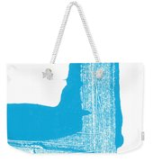 Way To Go- Congratulations Greeting Card Weekender Tote Bag by Linda Woods