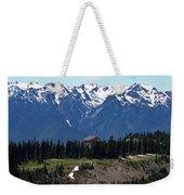 Way Up High - Hurricane Ridge - Washington Weekender Tote Bag