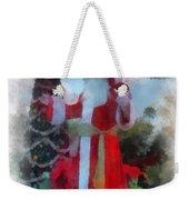 Wdw Santa Photo Art Weekender Tote Bag