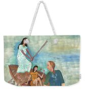 We All Went Punting In Progress Weekender Tote Bag