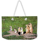 We Are Family Weekender Tote Bag