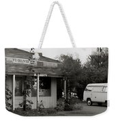 We Deliver Weekender Tote Bag