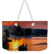 We Sail At Sunrise Weekender Tote Bag
