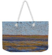 We Thought They Would Never Leave Weekender Tote Bag